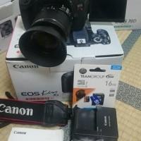 Kamera eos kiss x5 +18-55 is
