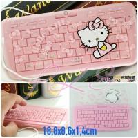 Keyboard USB mini Hello kitty
