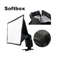 Softbox Flash Diffuser Camera DSLR Bisa untuk semua Merk