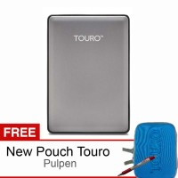 Hitachi Touro S 500GB 7200RPM - Gray + Free New Pouch T Murah