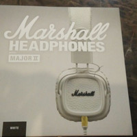 Marshall Headphones Major II White