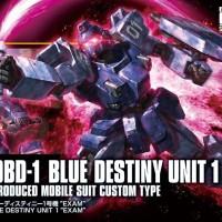 HGUC Blue Destiny Unit 1 -EXAM