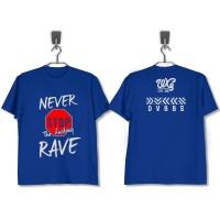 T-Shirt DVBBS NEVER STOP RAVE