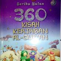 Buku anak - Seribu bulan 360 kisah Keajaiban Al-Quran - Baru