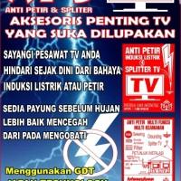 ANTI PETIR TV (PENGAMAN TV DARI PETIR / INDUKSI TEGANGAN TINGGI)