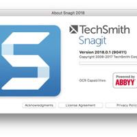Techsmith Snagit Mac Version 2018 Original Lifetime Update