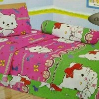 Bed cover set single 120x200 charm kitty T3010