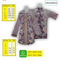 Jual Belanja Batik Online, Baju Batik Muslim, Batik Fashion, CB045SBVA Murah