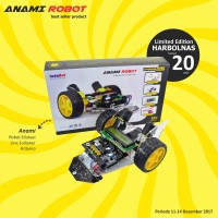 Robot Edukasi Lite Version Anami Line Follower Arduino Uno R3