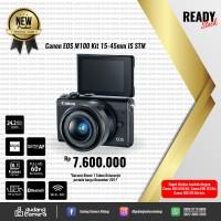 [NEW] Canon EOS M100 Kit 15-45mm IS STM @Gudang Kamera Malang