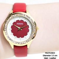 Jual Jam tangan wanita fossil tali kulit leather grosir guess dkny aigner  Murah