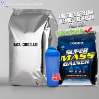 super mass supermass 6 lbs ecer repack gainer susu whey protein