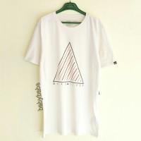 Quiksilver Broadway Snow White Tees/T-Shirt/Kaos Original