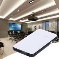 Jual SMART WIFI DLP PROYEKTOR ANDROID 8GB 480P 1000 LUMENS - BLACK WHITE Murah
