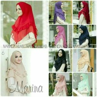 khimar marina rempel 2 hijab jilbab instant pasmina segi empat
