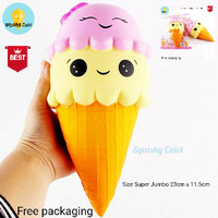 Squishy Licensed Sunny Ice Cream Super Jumbo Slow Rising