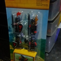 lego castle minifigure battle pack red dragon