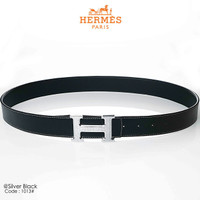 Male Belt New HERMES 1013#p (Silver) Quality : Premium Material Strap