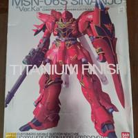 MG Sinanju Titanium Finish