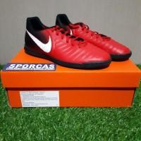 EDISI TERBARU Sepatu Futsal Nike Original Tiempo X Rio Fire Red IC
