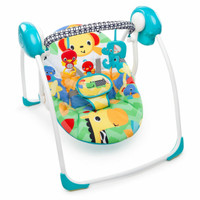 Bouncer Bright star Safari Smiles portable swing 60403/ayunan