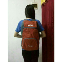 Harga tas ransel daypack lipat folding bag rei flexy 18l 18 liter not   Hargalu.com