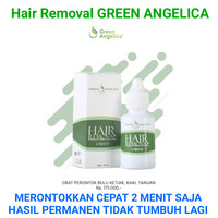 Penghilang Bulu Permanen 100% AMPUH Ketiak, Kaki Hair Removal Angelica