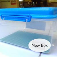 Drybox dry box kamera DSLR with sealer rubber free silica gel