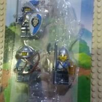 lego battle pack castle blue lion army