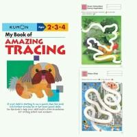 kumon books buku edukasi My book of amazing tracing buku kreatif anak