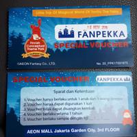 tiket masuk fanpekka playground AEON JGC