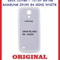 BACK COVER TUTUP BATRE SAMSUNG I9190 (GALAXY S4 MINI) WHITE ORI 901776