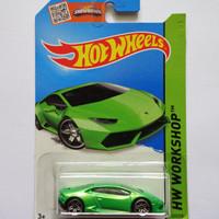 Hot Wheels / Hotwheels Lamborghini Huracan LP 610-4 Green