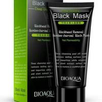 Jual bioaqua black mask masker carbon coral blackhead Murah