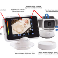 Baby Monitor Summer Infant BabyTouch Plus Digital Video Moni T1310