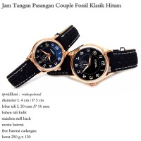 Jam Tangan Couple Klasik F fullset