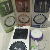 handsfree / Headset Earphone Handfee HP Smartphone XIAOMI/ASUS/OPPO/SA