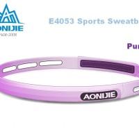 AONIJIE Sillicone Sweatband E4053 - Head Band Running Gym - PURPLE