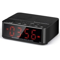 Jam Weker Digital Dengan Speaker Bluetooth dan FM Radio - KD66