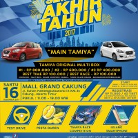 "DATSUN Fun Race ""Main Tamiya"" 16 Desember 2017 di Mall Grand Cakung"