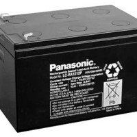 PANASONIC Battery 12V 12Ah