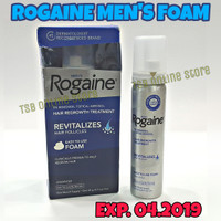 ROGAINE FOAM FOR MEN MINOXIDIL 5% USA