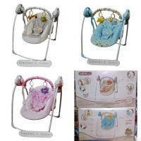 bouncer babyelle portable swing /ayunan bayi