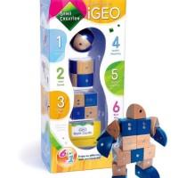 PRODAK BARU Genii Creation iGEO Set - Mainan Balok Kayu