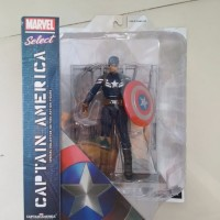 Mask Captain America The Winter Soldier Marvel Select Diamond Toys MOC