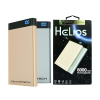 harga Cennotech Powerbank Helios 6.000mah 2 Usb Port (pure Capacity) Tokopedia.com