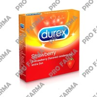 durex strawberry isi 3 - PRO FARMA