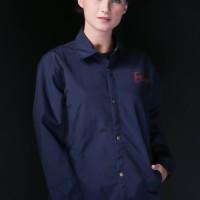 Erigo Coach Jacket model Japan Girl warna Navy ORIGINAL