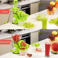 Blender Jus manual pemisah ampas Nutrition Juice manual buah dan sayur