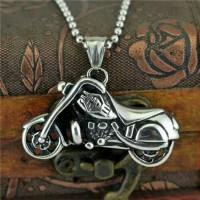 Harga kalung pria cowok liontin motor harley davidson | Pembandingharga.com